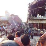 Pesawat Hercules TNI AU jatuh di Medan