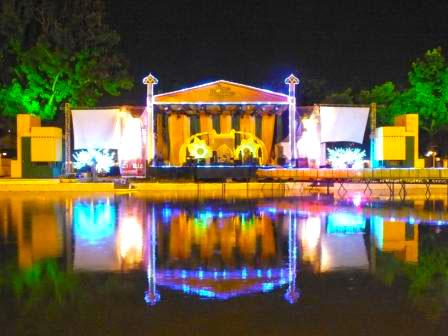 Panggung Konser Ramadhan Fair 2015