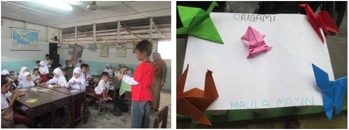 Maula Mazin dan Komunitas Armi Origami