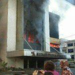 Gedung Medan Plaza Terbakar