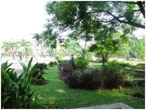 Taman Refleksi Kaki Komplek Cemara Asri