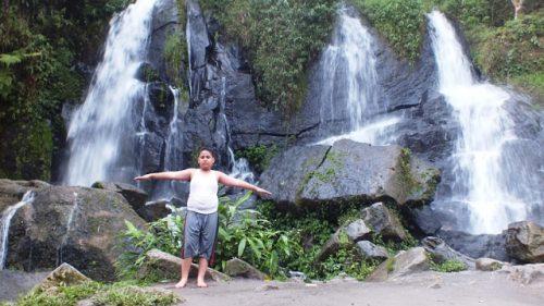 Air Terjun Bah Biak di Perkebunan Bah Butong. /Dok. SeMedan.com