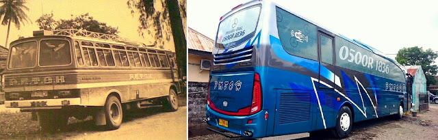 Sebuah bus Aceh terbaru dari PMTOH