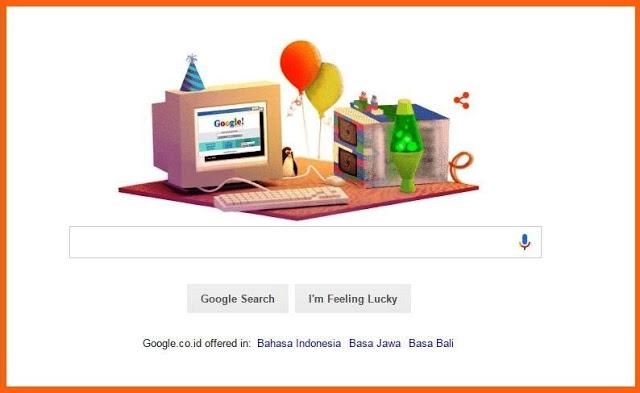 Ulang Tahun Google ke 17