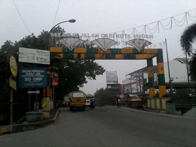 Selamat Jalan dari Kota Medan Menuju Kampung Kolam, Tembung