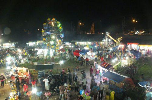 Wahana Permainan Pasar Malam