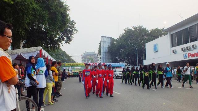 "Hari Olahraga Nasional ""Haornas"" 2015 di Lapangan Merdeka Medan"