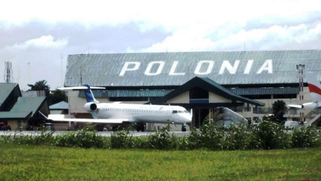 Bandara Polonia Medan jadi Pangkalan Udara Soewondo