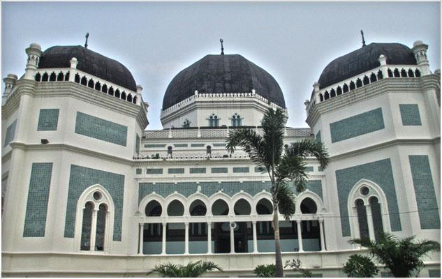 Masjid Raya Al-Mashun Medan, Topografi 109 Tahun