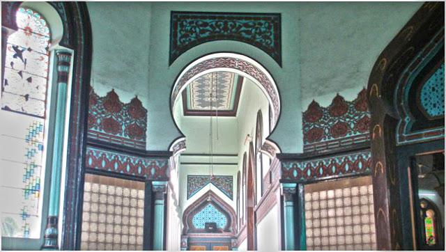 Satu di antara empat lorong yang ada di Masjid Raya Al-Mashun