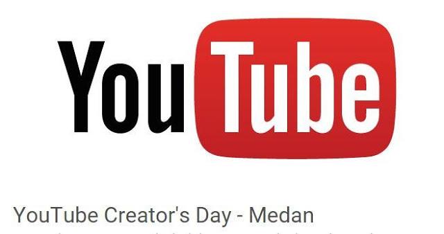 YouTube Creator's Day Medan, Ayo Bangkit Youtubers Medan
