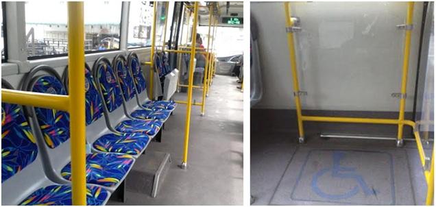 Interior Design Bus Terbaru Kota Medan, Trans MEBIDANG