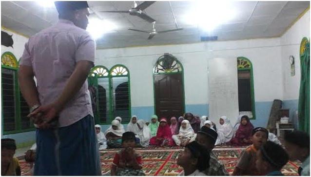Air Mata Aceh Meleleh, Origami di Meunasah Pos XI Rantau Panjang Peureulak