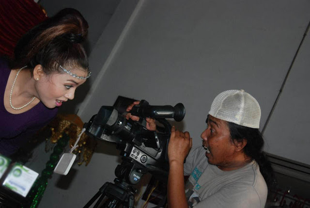 Saat sesi syuting video klip. /Dok. Zoel Vandawa Entertainment