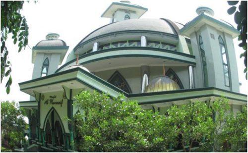 Masjid Al-Musannif di Perumahan Mewah Cemara Asri Medan