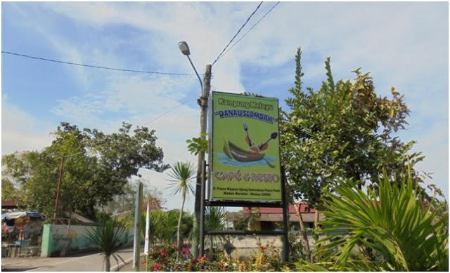 Sebuah cafe resto di kawasan wisata Danau Siombak./Dok. Setiadi R. Saleh