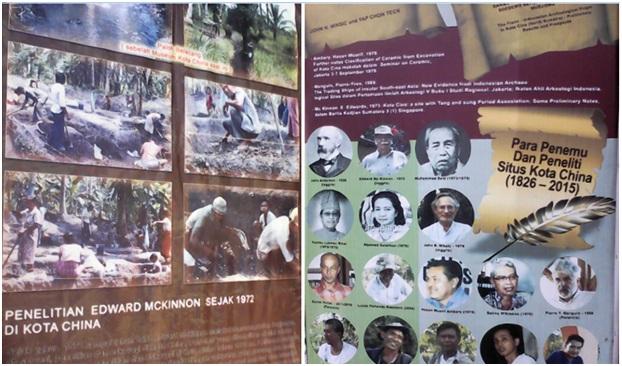 Museum Kota Cina, Situs Awal Perdagangan Penting di Pantai Timur Sumatera Abad XI