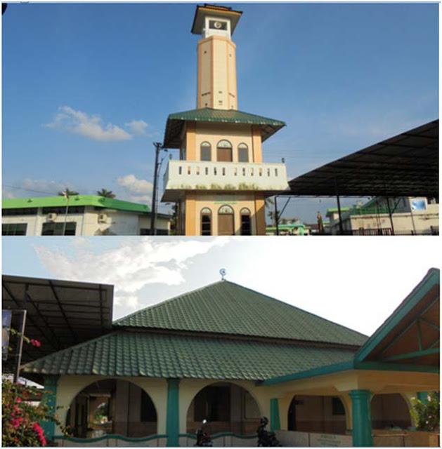 Masjid Badiuzzaman Surbakti terbuat dari putih telur dan pasir sungai dibangun tahun 1885 (1306 Hijriah)