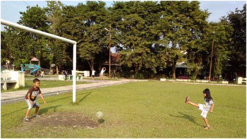 Bermain dan Olahraga, Ruang Terbuka Hijau di Medan Helvetia