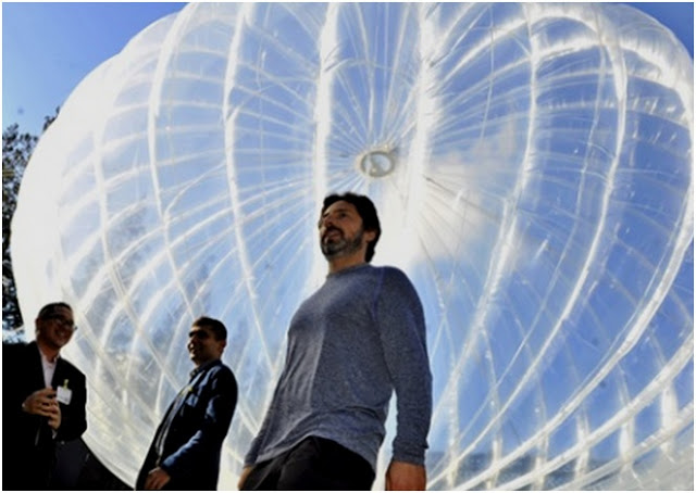 """Balon Internet Google """"Project Loon"""", Menara Seluler di Udara"""