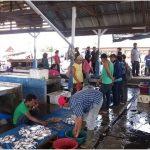 Kawasan Wisata Bagan Percut, Pelelangan Ikan Ujung Muara
