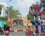 Menjelang Penutupan New PRSU Medan 2016, Ikon Robot Paling Sering Difoto