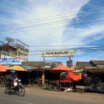Marelan Kota, Lapak Pedagang Sepanjang Jalan
