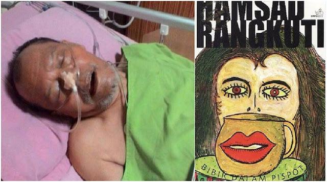 Sastrawan Besar Hamsad Rangkuti, Terbaring Sakit di RS Sembiring Deli Tua Medan