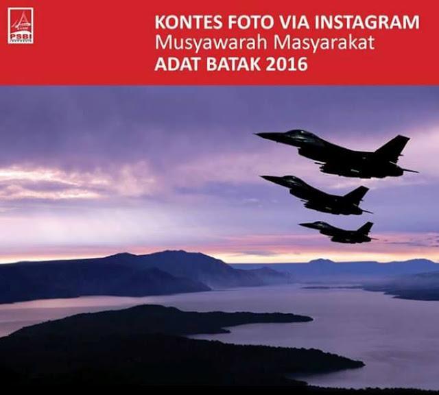 Kontes Foto via Instagram, Musyawarah Masyarakat Adat Batak 2016