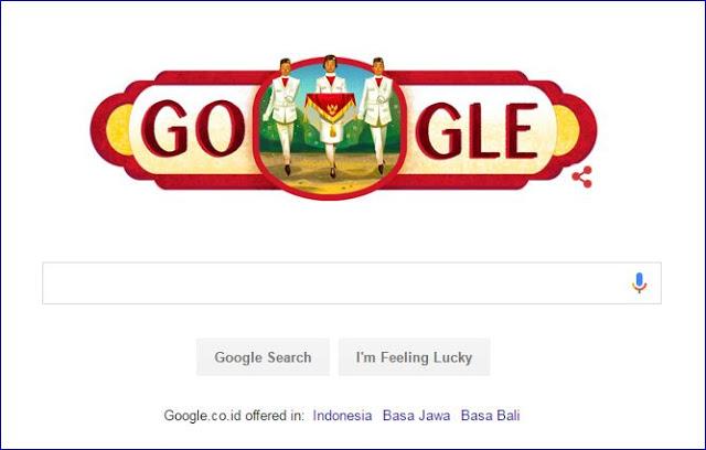 Google Ikut Merayakan Hari Kemerdekaan Indonesia ke-71