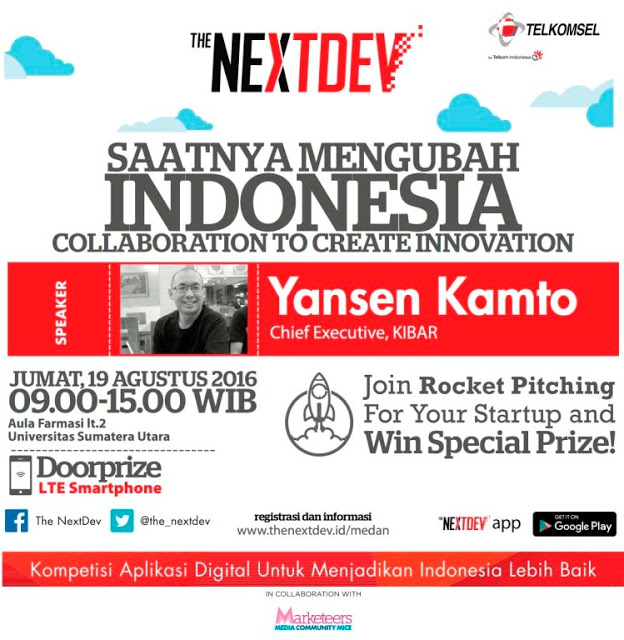 The NextDev Roadshow Medan 2016