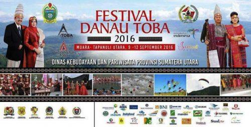 Festival Danau Toba 2016 Digelar di Tapanuli Utara
