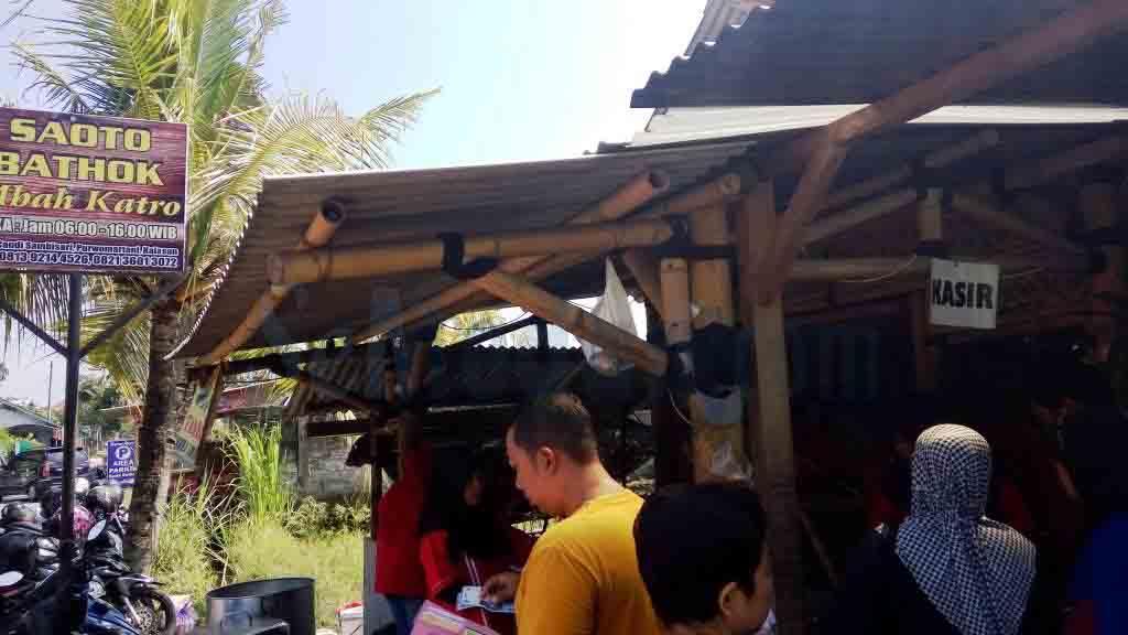 Saoto Bathok Mbah Katro, Yogyakarta