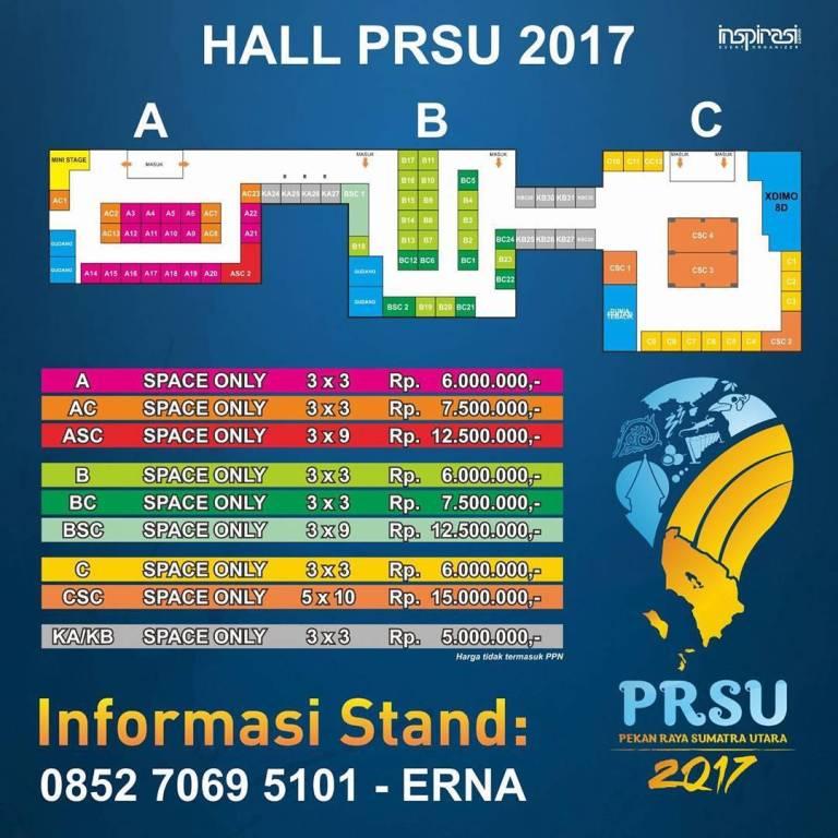 Informasi Stand PRSU Medan 2017