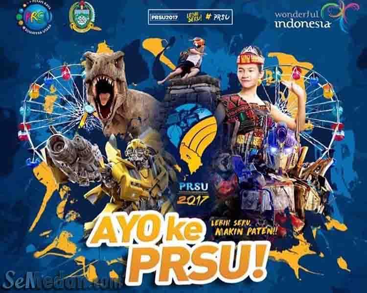 PRSU Medan 2017 Perhelatan Akbar Seni dan Budaya Sumatera Utara