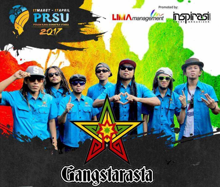Gangstarasta Goyang Reggae di PRSU