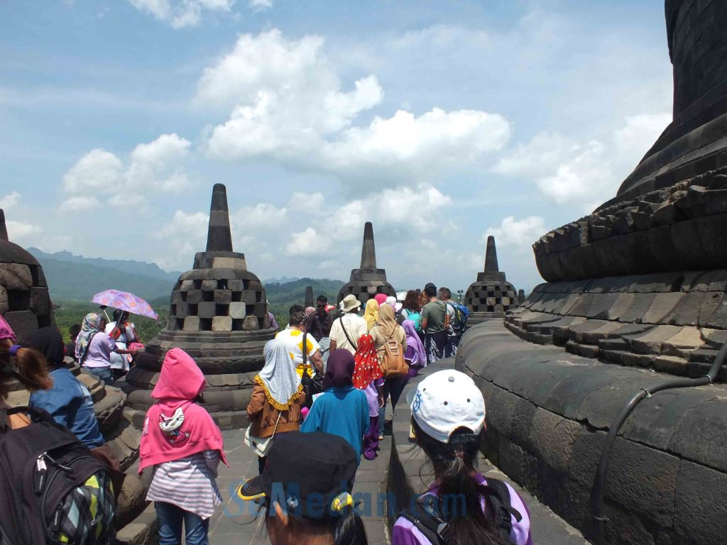 Candi Borobudur, Candi Buddha Terbesar di Indonesia