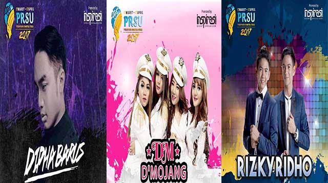 Dipha Barus, D'Mojang, Rizki Ridho Meriahkan New PRSU 2017