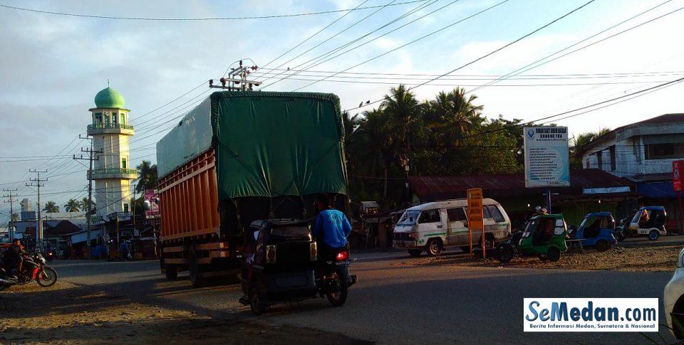 Suasana Pagi di Gunung Tua, Padang Lawas Utara