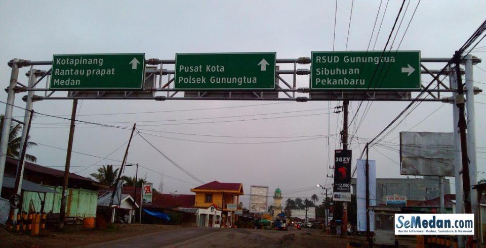 Gunung Tua, Kota Penting di Lintas Tengah Sumatera