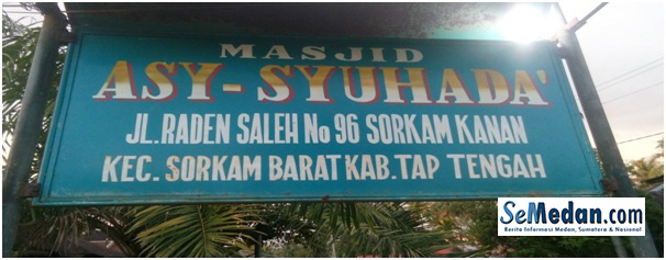 Masjid Asy-Syuhada Sorkam Kanan