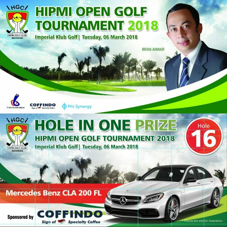 HIPMI Open Golf Tournament 2018
