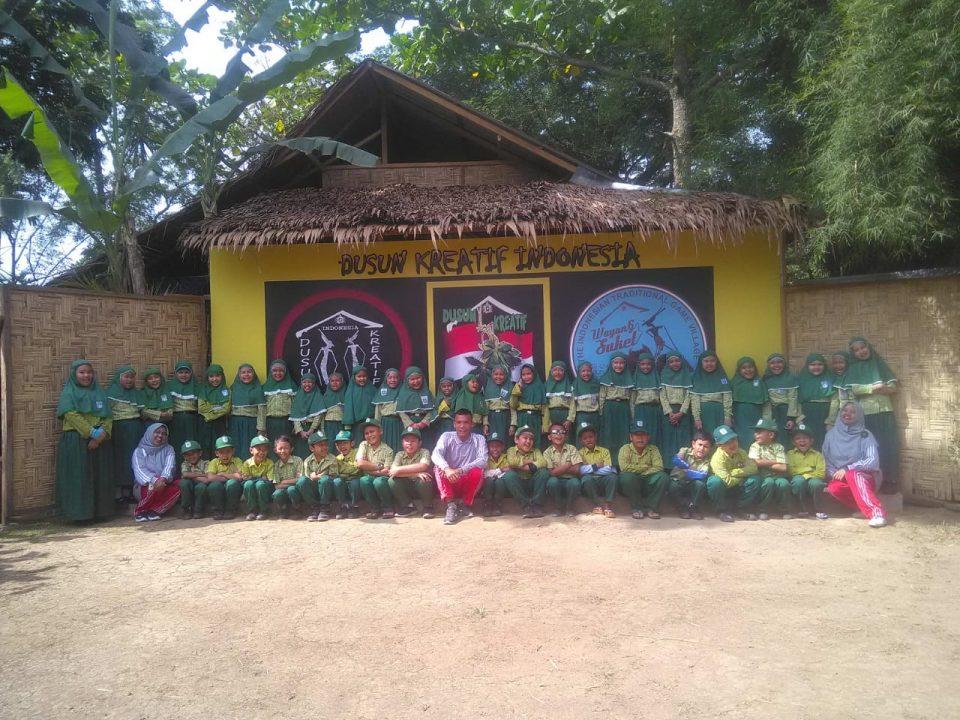 Edukasi Alam SD Taman Harapan