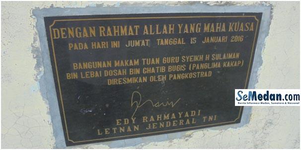 Makam Tuan Guru Syeikh H. Sulaiman Bin Lebai Dosah Bin Chatib Bugis