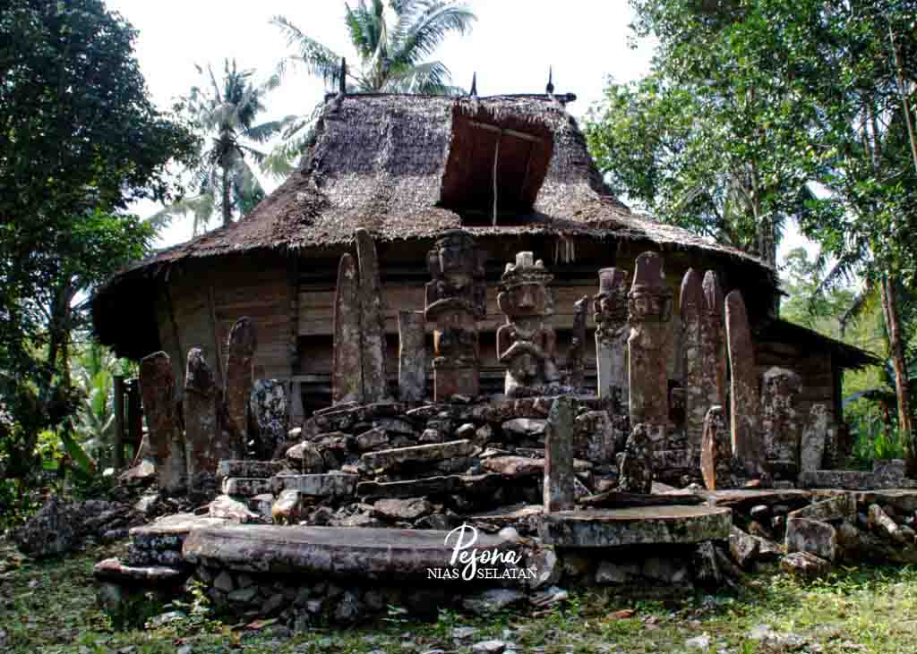 Kampung Tua Boronadu, Kampung Tertua Nias Selatan