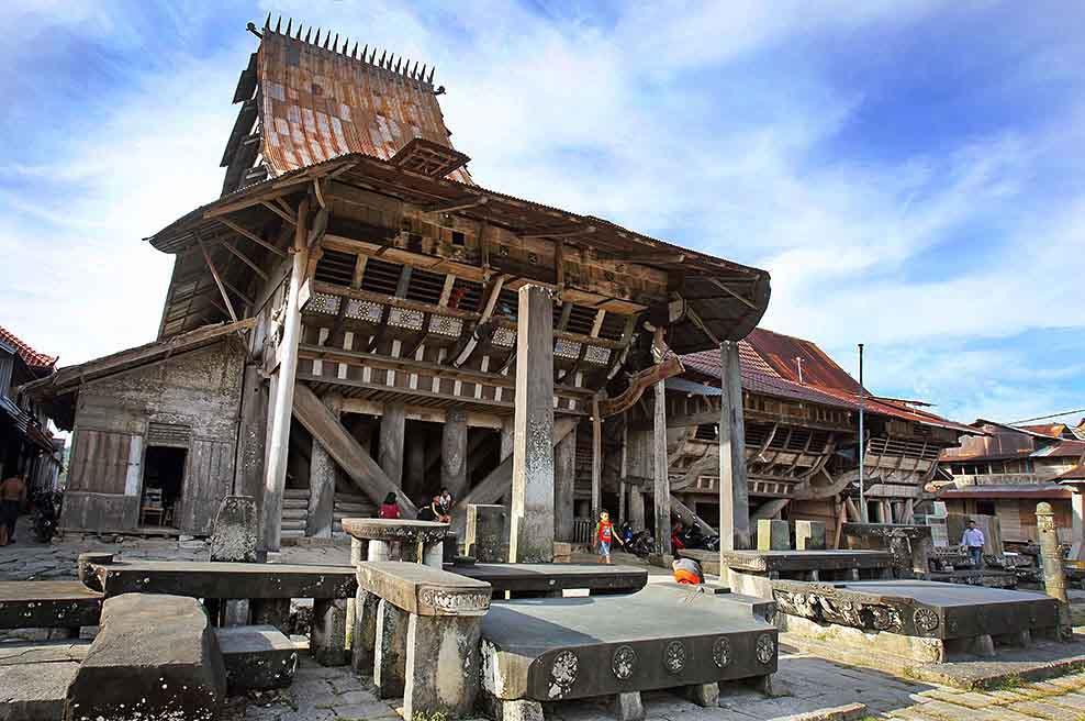 Omo Sebua, Rumah Tradisional Tahan Gempa Nias Selatan