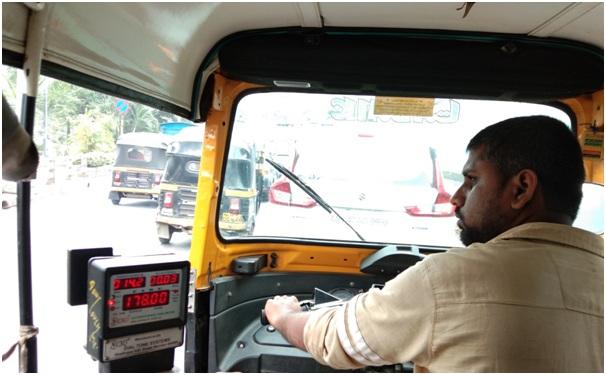 Transportasi di India Bajaj dan Ricksaw