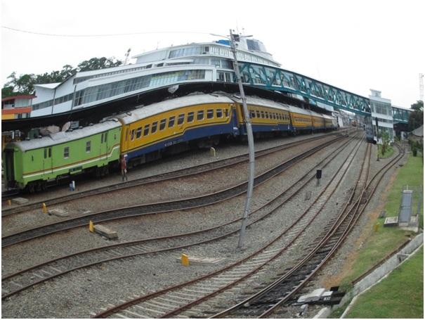 Kereta Api di Dua Negara, India-Indonesia