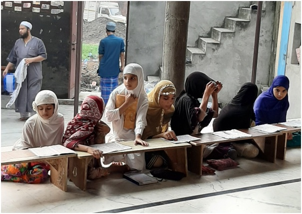 Maktab Al-Qur'an di Shamli India