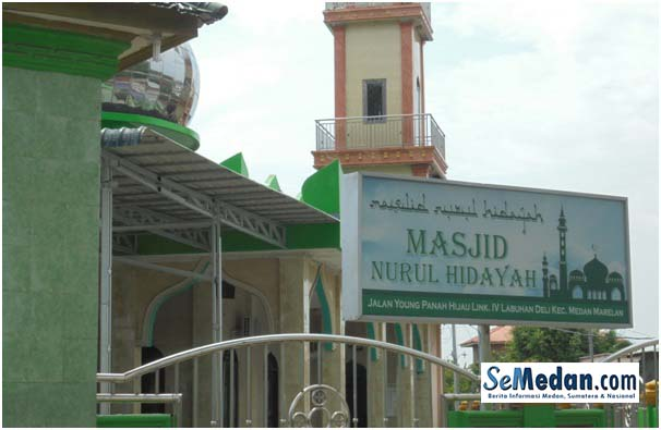 Masjid yang ada di Jalan Young Panah Hijau